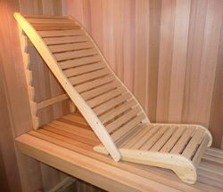 Wooden Lounge Chair (item 5141)