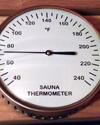 Thermometer Glass encased