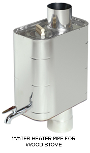 PIPE MODEL WATER HEATER
