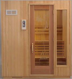 Sauna kit sauna heater sauna modular sauna finlandia sauna fpf56 alaska yellow cedar sauna with optional yellow cedar exterior f 1t exterior wall control side light window positive etched sauna design glass door planetlyrics Image collections