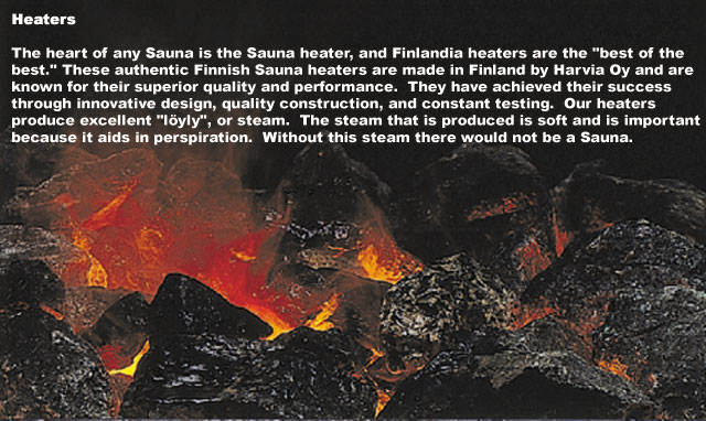 Sauna Heaters & Accessories | Finlandia Sauna on